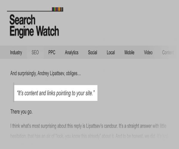 سئو محتوا در گوگل google SEO Content و نقش آن در افزایش رتبه و نرخ کلیک CTR