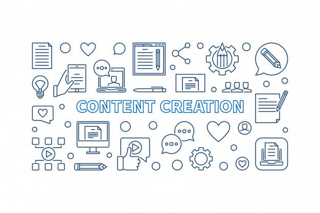 آموزش تولید محتوا مفهومی content creation concept