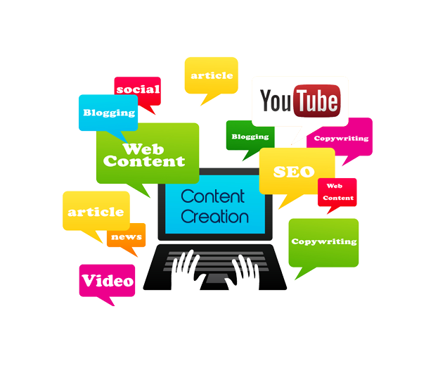 تولید محتوا content creation